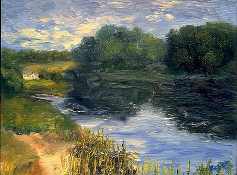 Summer At Jackson Lake by Gail Kirtz