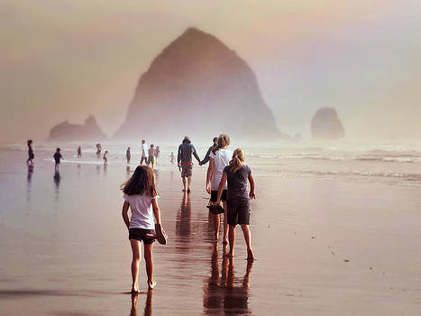 Summer at the Seashore  by Micki Findlay
