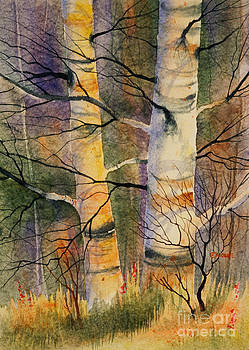 Summer Birch II by Teresa Ascone