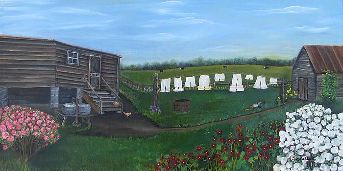 Summer Bloomers by Linda Clark