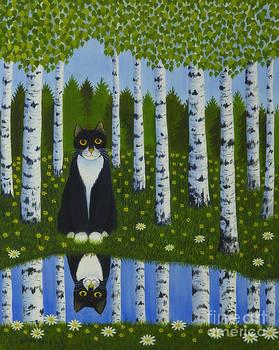 Summer cat by Veikko Suikkanen