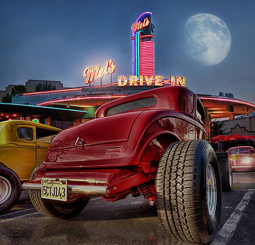 Summer Cruisin' At Mels Diner .... by Rat Rod Studios