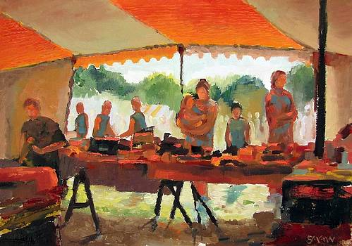 Summer Fete by Robert Shaw