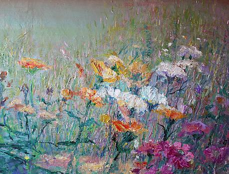 Summer Flowers by Benjamin Johnson