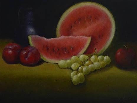 Summer Fruit by Joan Glinert