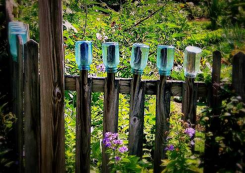 Marysue Ryan - summer garden jars