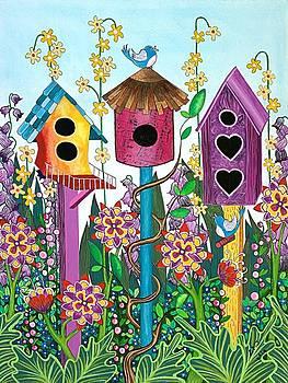 Summer Garden by Lisa Frances Judd