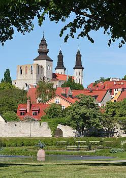 Dreamland Media - Summer Green Medieval Town