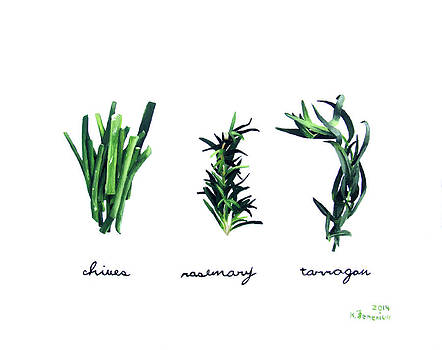 Summer Herbs by Kayleigh Semeniuk