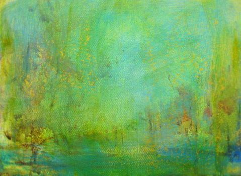 Summer Landscape by Bonnie Bardos