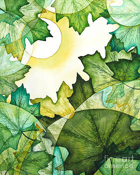 Summer Maple Leaves by Christina Meeusen