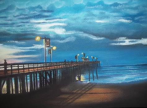 Summer Nights in Pismo by Terry Godinez