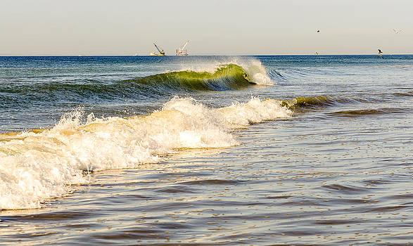 Summer Ocean Scene 1 by Maureen E Ritter