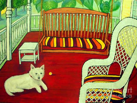 Summer Porch by Doreen Kirk