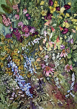 Summer Prairie I by Helen Klebesadel