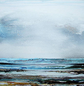 Summer Rain Squalls Northumberland Coast no2 by Mike   Bell