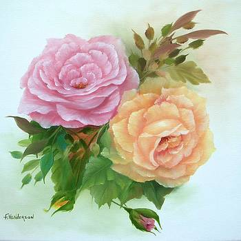 Summer Roses by Francine Henderson
