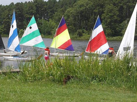 Summer Sail Camp by Edwin Newman
