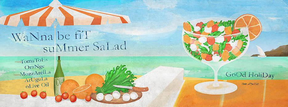 Summer Salad by Patrycja Wrobel