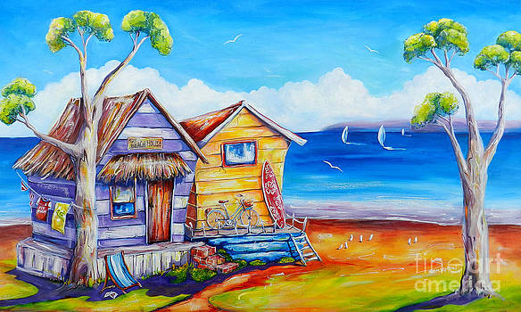 Summer Shacks by Deb Broughton