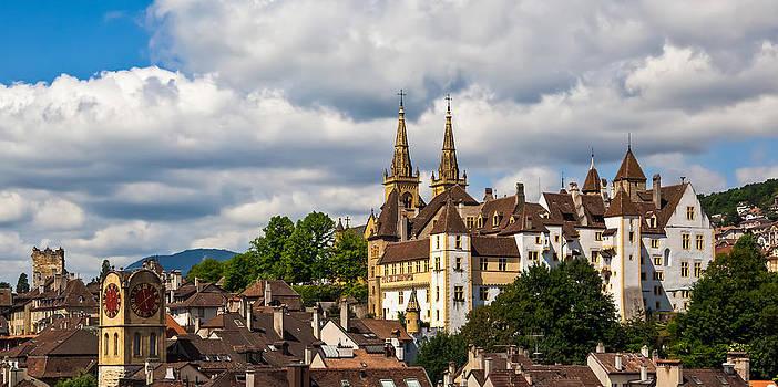Charles Lupica - Summer splendor on the Chateau de Neuchatel