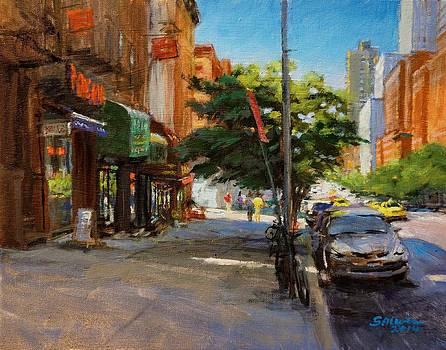 Summer Sunlight on Tenth Avenue by Peter Salwen