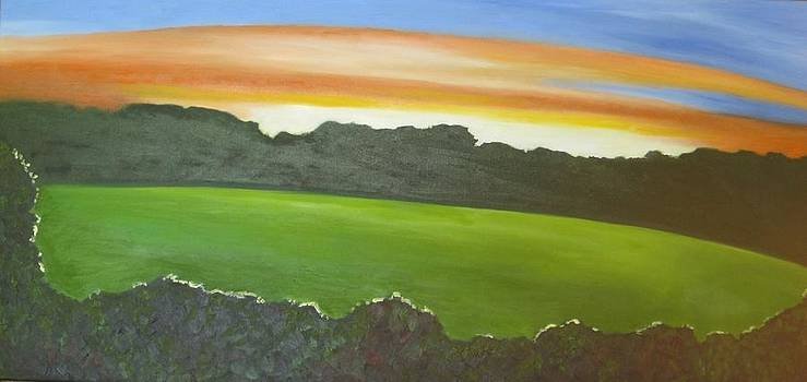 Summer Sunset by Gloria Cigolini-DePietro