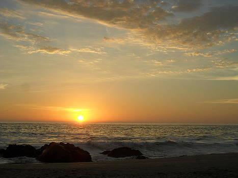Summer Sunset in Punta Negra by Alonso Medina Caycho