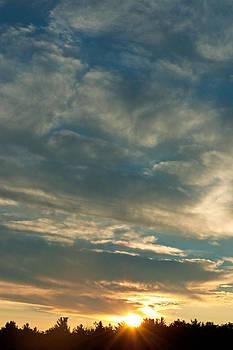 Summer Sunset by Katina Borges