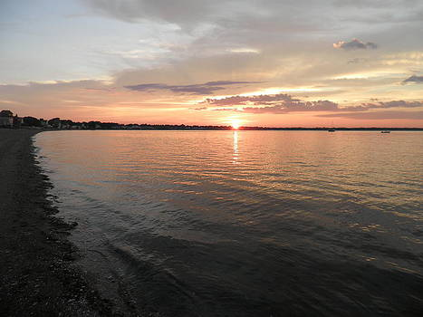 Kate Gallagher - Summer Sunset on Narragansett Bay