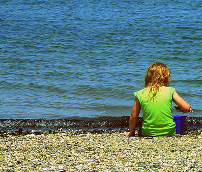 Summer time on the coast of Maine by Christy Beal