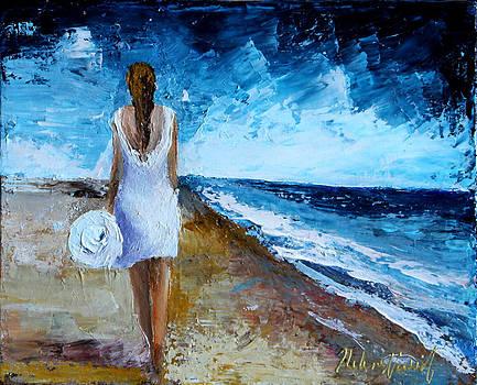 Summer Walk by Helene Khoury Nassif