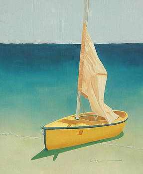 Summer's Boat by Diane Cutter