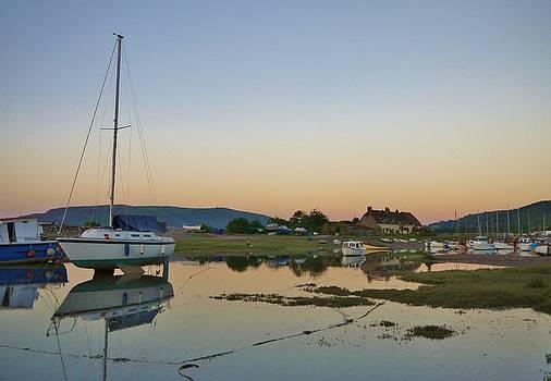 Summer's Eve at Porlock Weir by Rosie Schneider