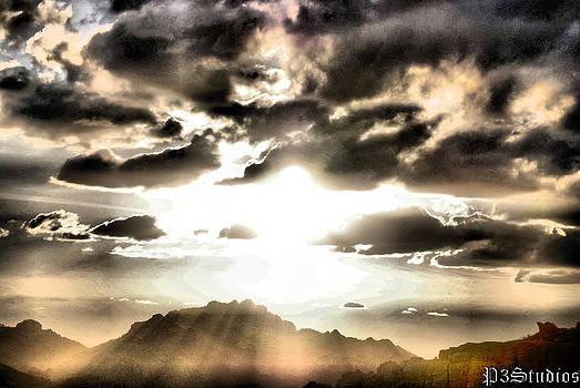 Sun Burst by Corvus Alyse