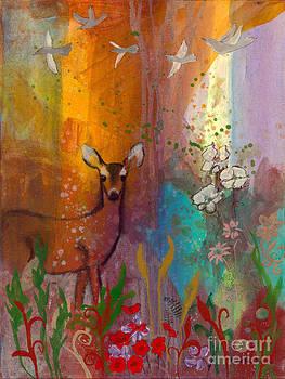 Sun Deer by Robin Maria Pedrero