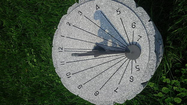 Sun Dial by Ted Mahy