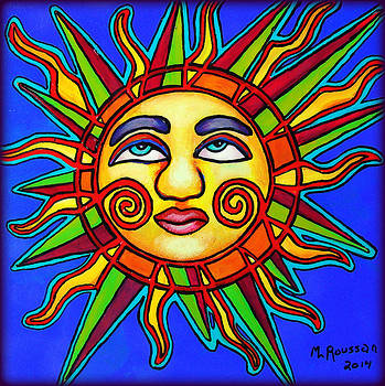 Sun Face SOLD by MarvL Roussan