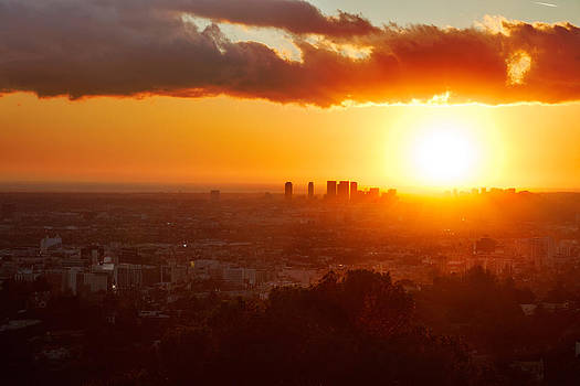 Jo Ann Snover - Sun goes down over LA