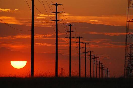 Sun Going Down 2 by Mischelle Lorenzen