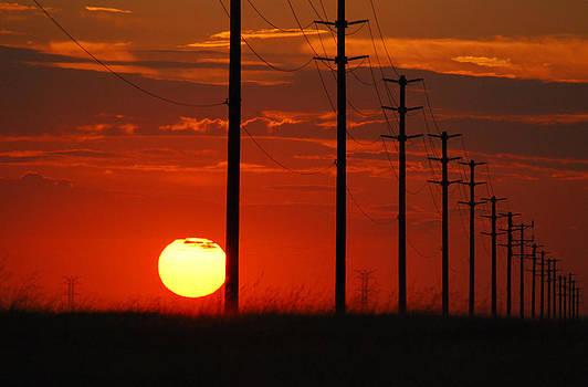 Sun Going Down 3 by Mischelle Lorenzen