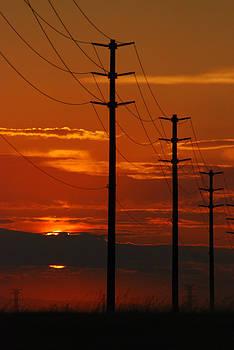 Sun Going Down by Mischelle Lorenzen
