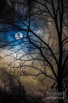 Sun hidden in clouds by Gerald Kloss