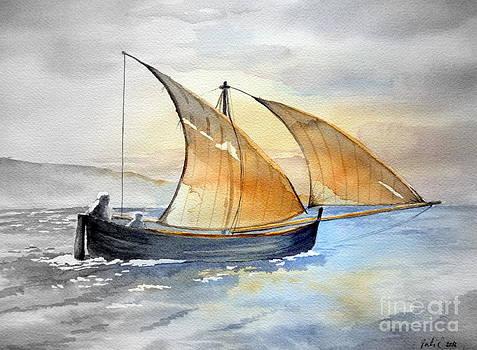 Sun in the sails  by Eleonora Perlic