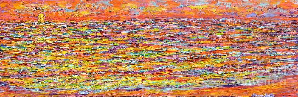 Sun kissed the Sea by Sloane Keats