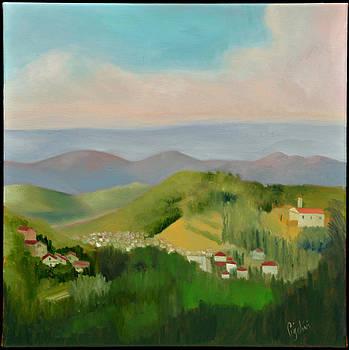 Sun Lite Valley by Gloria Cigolini-DePietro