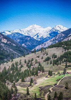 Omaste Witkowski - Sun Mountain View of Mt Gardner in Springtime