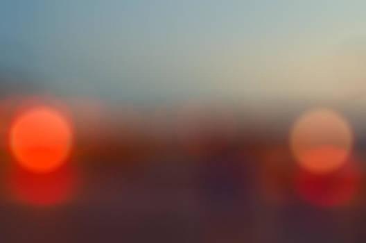 Sun on Horizon by J Riley Johnson