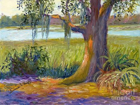 Sun on Oak Tree by Patricia Huff