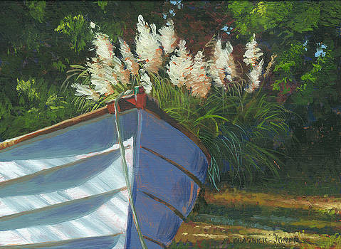 Sun on the Pampas Grass by Marguerite Chadwick-Juner